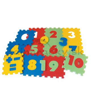 Koberec s číslami
