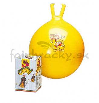 Lopta na skákanie - žltá 50 cm