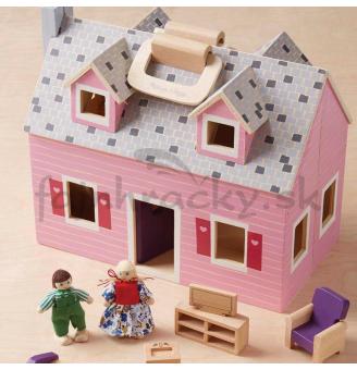 Domček pre bábiky - zatvárací