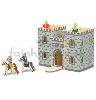 Zatvárací hrad s figúrkami