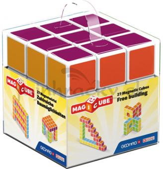 Geomag - Magicube - rôznofarebné, 27 ks