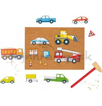 Zatĺkačka - Vozidlá