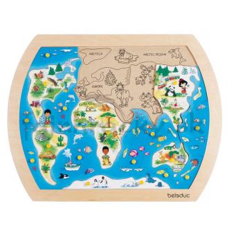 Vkladacie puzzle - Náš svet