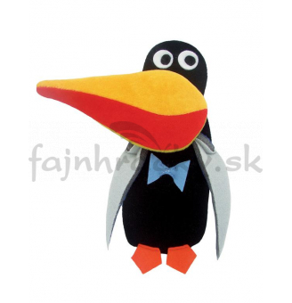 Veselý poťah na kľúčku - Tučniak