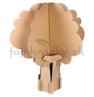Vyrob si darček! - Kartónový strom 4 ročných období