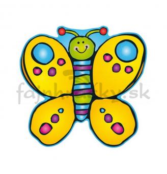 Obojstranná dekorácia Motýľ