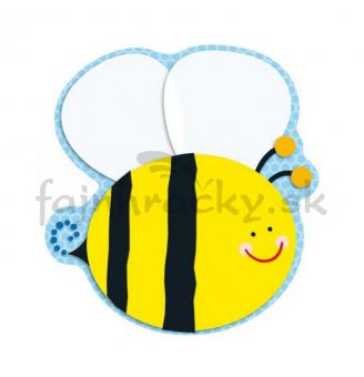 Obojstranná dekorácia Včielka