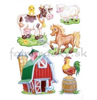 Nálepky - Farma