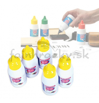 Farba na pečiatky - fialová 50 ml