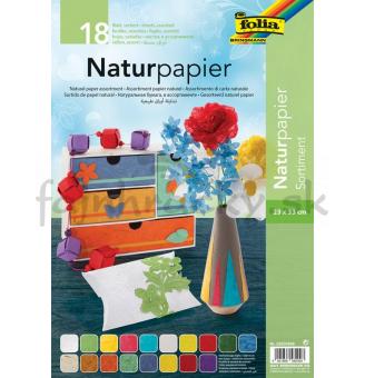 Prírodný papier - mix