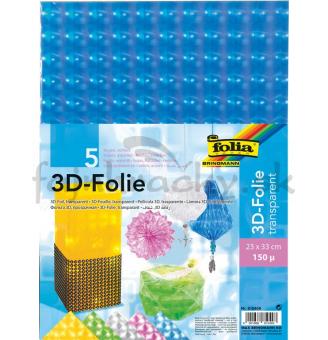 3D fólia s holografickým efektom