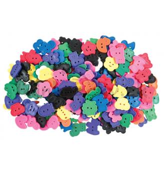 Gombíky rôznych tvarov