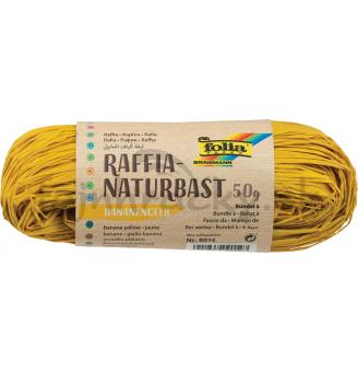 Prírodná rafia - žltá