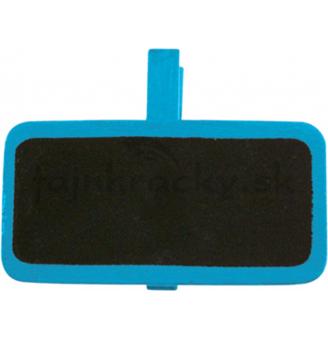 Drevené označovacie tabuľky modrá