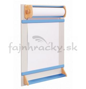 Tabuľa na papierovú rolku - modrá