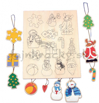 Vyrob si darček - vianočné ozdoby