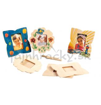 Vyrob si darček - rámčeky na fotky