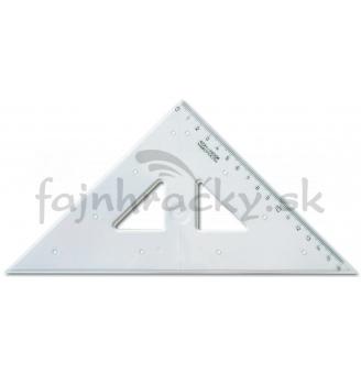 Pravítko trojuholník s kolmicou 16 cm