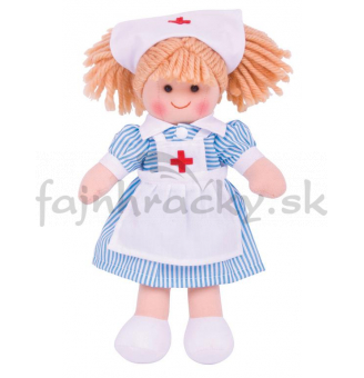 Látková bábika - Sestrička Nana